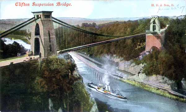 Clifton bridge, le pont suspendu de Bristol