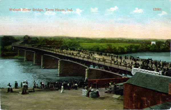 A trip down the wabash in old postcards terre haute 6 for 242 terrace ave riverside ri