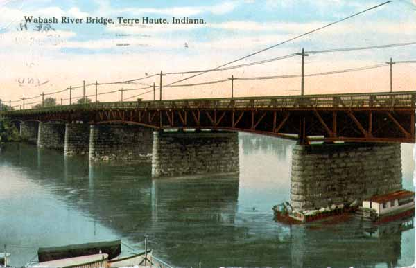 Wabash River Bridge, Terre Haute